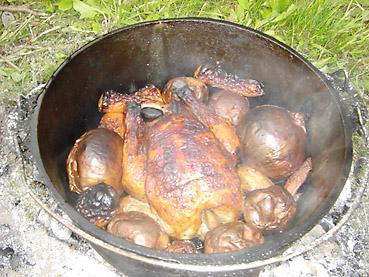 定番、鶏の丸焼きを成功させる秘訣!