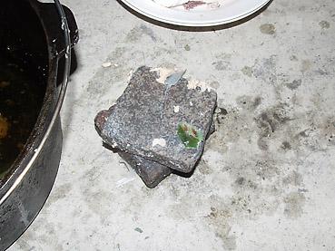 石焼き料理用の石