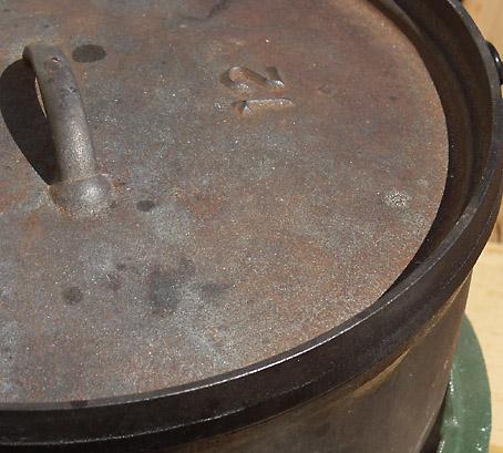ダッチオーブンの錆び付きを防止する方法